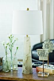 Quatrefoil Alabaster Table Lamp Small Design By Regina Andrew