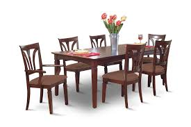 Image Madison Avenue Dining Table With 4 Side Chairs And 2 Arm