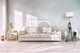 fototapete skandinavisches nordisches wohnzimmer sofa textfreiraum