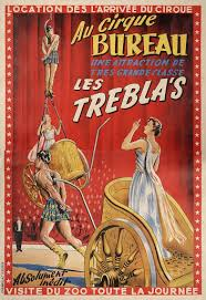 cirque bureau au cirque bureau les trebla s vintage circus