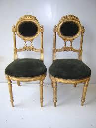 louis xvi chair antique antique pair of louis xvi gilded chairs