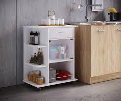 vcm küchenwagen servierwagen rollwagen küchenregal küchentrolley pocis küchenwagen pocis mit rollen farbe weiß