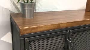 Industrial fice Furniture Design Modern Industrial L shape