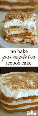 No Bake Pumpkin Toffee Icebox Cake Little Dairy the Prairie