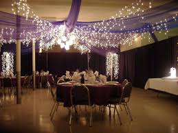 Decor Halls For Partie Wedding Reception Tulle And Lights In Our