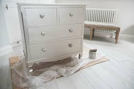 Shabby Chic Metallic Dresser