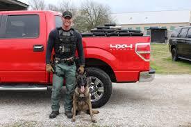100 Lobos Truck Fayette Countys Crimefighting Dog Retires