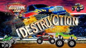 100 Monster Jam Toy Truck Videos Destruction Hotwheels Game For For