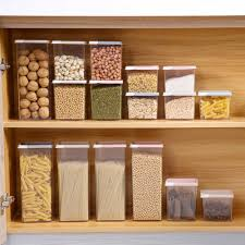 100 House Storage Containers US 313 13 OFFOTHERHOUSE Kitchen Food Refrigerator Organizer Tea Bean Grain Spice Food Box Case Clear Eco Friendlyin