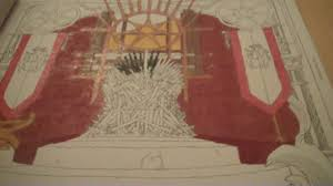 HBO Game Of Thrones Coloring Book Review And Flip Through