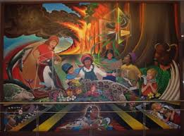 Denver International Airport Murals Removed by Phantoms And Monsters Pulse Of The Paranormal