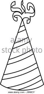 birthday hat icon Stock Image