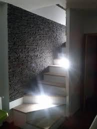 ein traum im treppenhaus schieferoptik in tief grau treppe