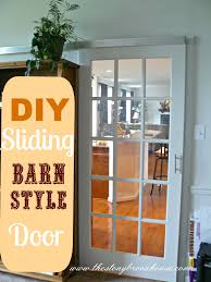 DIY Sliding {Barn Style} Door - The Stonybrook House Sliding Barn Door Diy Made From Discarded Wood Design Exterior Building Designers Tree Doors Diy Optional Interior How To Build A Ideas John Robinson House Decor Space Saving And Creative Find It Make Love Home Hdware Mediterrean Fabulous Sliding Barn Door Ideas Wayfair Myfavoriteadachecom