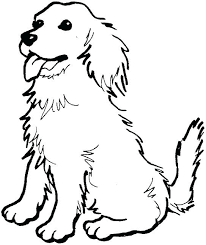 Free Printable Dog Coloring Pages For Adults Christmas Cute