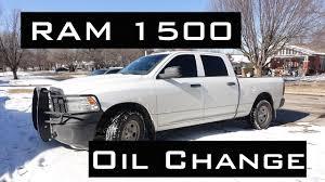 RAM 1500 Oil Change | HEMI 5.7L | 2009-2017 - YouTube