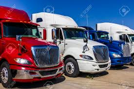 100 White Trucks For Sale Indianapolis Circa September 2017 Colorful Red And
