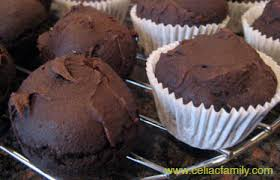 Cake Mix And Pumpkin by Chocolate Pumpkin Muffins Made With A Gluten Free Cake Mix