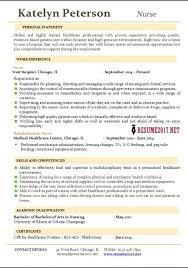 Example Resume Customer Service Profile Statement On A Nurse New Grad Nursing Professional