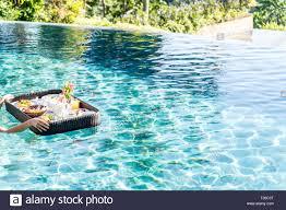 100 Bali Infinity Floating Breakfast In Infinity Pool On Paradise Island