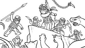 Ninjago Coloring Page Eassume Free Book