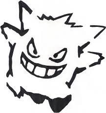 Pikachu Pumpkin Stencil Printable by Pokemon Gengar Stencils Halloween Images Pokemon Images