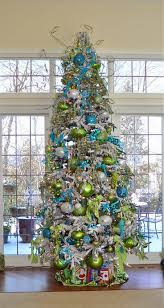 Christmas Tree Blue Lime Green Would Match My Fiesta Ware