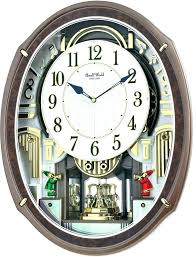 Moving Wall Clocks Rhythm Small World Clock