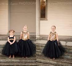 2015 gold sequin tank flower girl dresses baby girl tutu dress