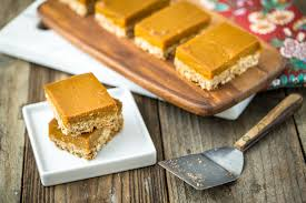 Pumpkin Cake Mix Bars by Oatmeal Pumpkin Pie Bars