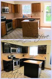 gel stain kitchen cabinets white before after pinterest re stained