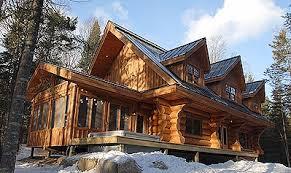 maison bois rond prestige chalet bois rond