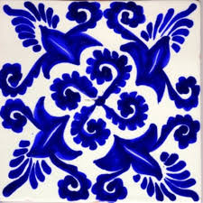 Mexican Tile House Numbers With Frame by Cobalt Blue Diamond Tiles Moon Google Search For The Home