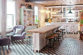 Unique Rustic Chic Kitchens Pertaining To Kitchen 50 Fabulous Shabby That Bowl You Over