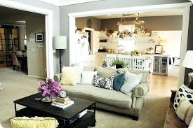 Open Kitchen And Living Room Image Of Picture Dining