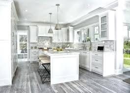 Grey Wood Floors Kitchen Gray Transitional Vita Layout Team Bedroom With Dark