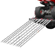 Black Widow Aluminum Bi-Fold ATV Loading Ramp 71