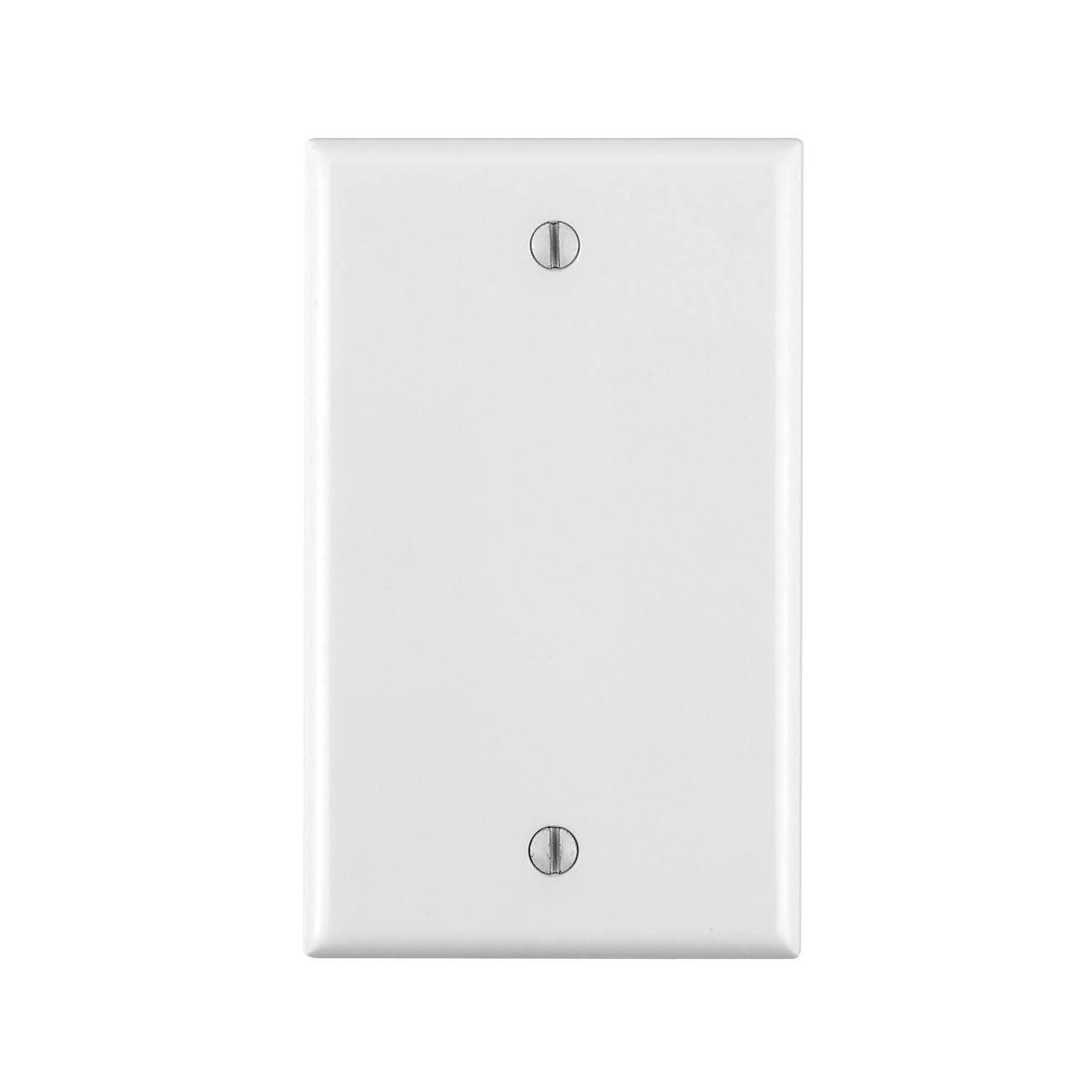 Leviton 1-Gang Blank Wall Plate - White