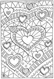 Healing Hearts Coloring Page