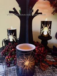 Halloween Fireplace Mantel Scarf by Spooky Fireplace For Halloween The Seasonal Home