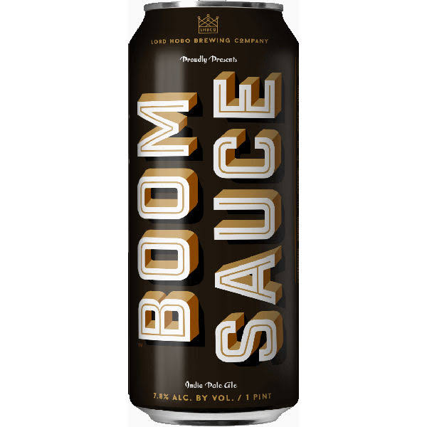 Lord Hobo Brewing Boom Sauce 4 Pack Cans
