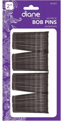Diane Bobby Pins - Black, 60ct