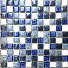 blue porcelain mosaic swimming pool tile ceramic wall tiles mosaic