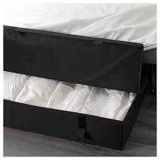 Ikea Convertible Sofa Bed With Storage by Lycksele Lövås Sleeper Sofa Ebbarp Black White Ikea