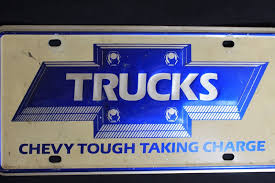 Amazing Chevrolet Truck Chevy Tough Taking Charge Small Hole Front ...