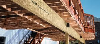 design solutions for exterior decks q u0026a wood products blog