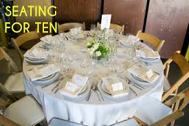 A Round Table Seating Ten