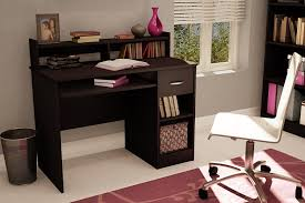 Sauder Beginnings Computer Desk by Amazon Com South Shore Axess Desk With Keyboard Tray Chocolate