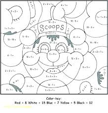Coloring Pages Free Printable Math Sheets Winter Ble