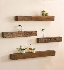 Stylish DIY Floating Shelves Wall Easy Living Room